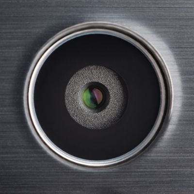 Clean a smartphone camera lens